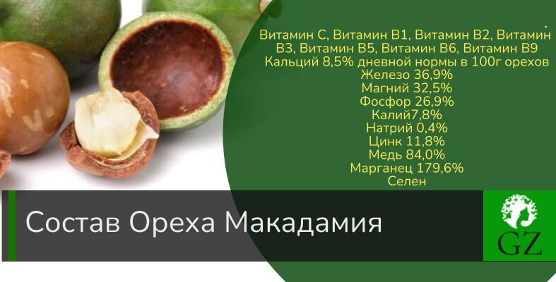 Макадамия орех полезные свойства цена